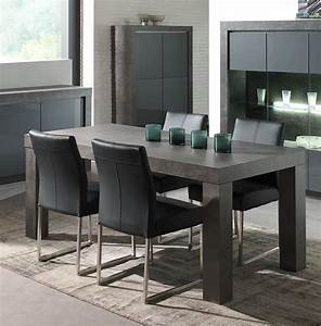 table salle a manger pas cher 1 table effet beton cire With table salle a manger beton cire