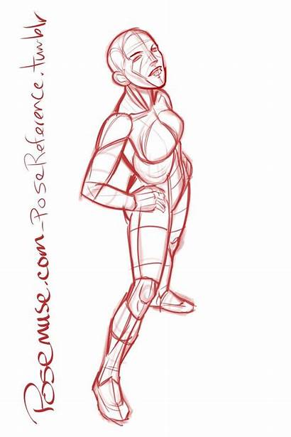 Pose Reference Drawing Poses Female Anatomy Models