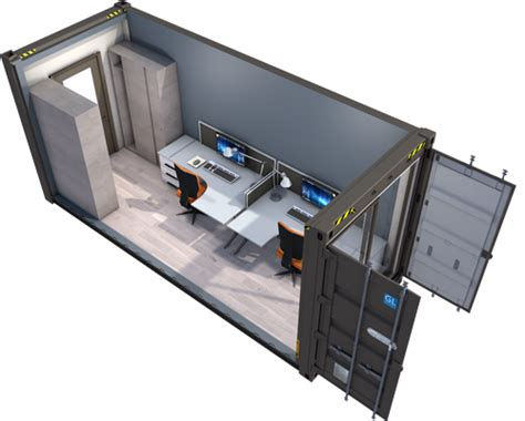 container bureau container amenage bureaux 20 pieds