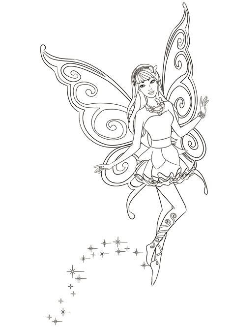disegni da colorare fata ama volare