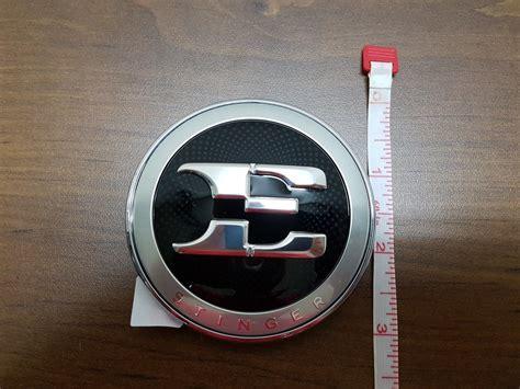 Kia E Badge by Oem Kia Stinger E Badge Emblem Kia Stinger Dot