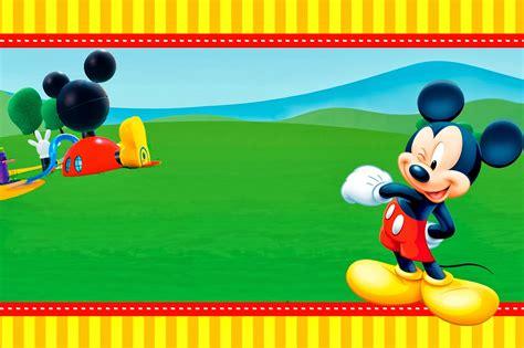 Minnie mouse clubhouse invitations cfcpoland mickey mouse clubhouse invitation template free download cloudinvitationcom maxwellsz