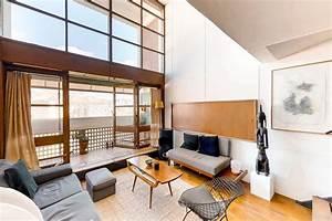 Le Corbusier Cité Radieuse Interieur : apartment in le corbusier s brutalist icon la cit radieuse lists for 740k curbed ~ Melissatoandfro.com Idées de Décoration