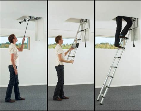 escalier escamotable sans trappe echelle t 233 lescopique pour toit echelle t 233 lescopique techni contact