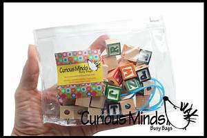 alphabet block wooden beads curious minds busy bags With block letter beads