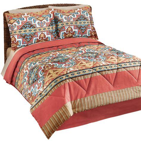 Aztec Comforter Set by Jaron Southwestern Aztec Comforter Set By Collections Etc