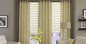 3 Day Blinds Offers Horizontal Sheer Shades With Drapery