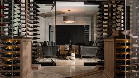 homeowners focus  wine storage rooms replace cellars