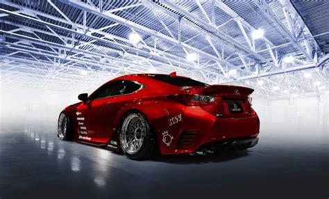 lexus rc  tuning rocket bunny red car hd wallpaper