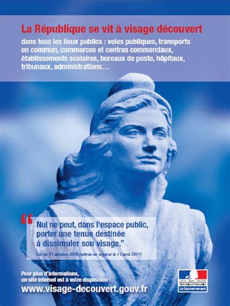 La République se vit à visage découvert - L'Internet des ...