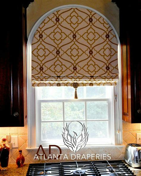 Arched Window Blinds by Arched Window With Pattern Placement Window Treatments