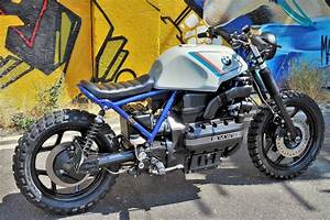 Bmw K100 Scrambler : bmw k100 street scrambler by kustom moto bikebound ~ Melissatoandfro.com Idées de Décoration