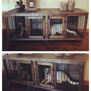 17 best ideas about dog crate table on pinterest dog With xl dog crate end table