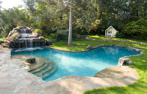 pools pictures lagrange park lagoon pool traditional pool chicago by rosebrook pools inc
