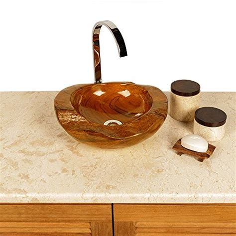 waschbecken rund 30 cm wohnfreuden teakholz waschbecken rund ca 30 cm top qualit 228 t einzeln fotografiert auswahl