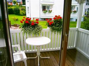 balkon mit garten vor den appartements binzer sterne With französischer balkon mit garten insel