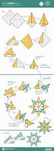 Origami Stern Falten Einfach : 25 einzigartige origami stern falten ideen auf pinterest origami stern anleitung ~ Watch28wear.com Haus und Dekorationen
