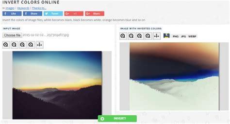 picture color inverter 5 free photo color inverter websites to invert colors