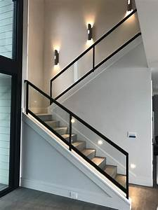 Steel and Glass Railing OT Glass