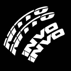 nitto invo custom tire letters With nitto invo white letter