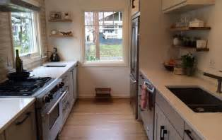 12 small kitchen layouts for better space organization - Small Galley Kitchen Remodel Ideas