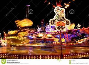 Carnival Lights At Night Stock Images - Image: 9342564