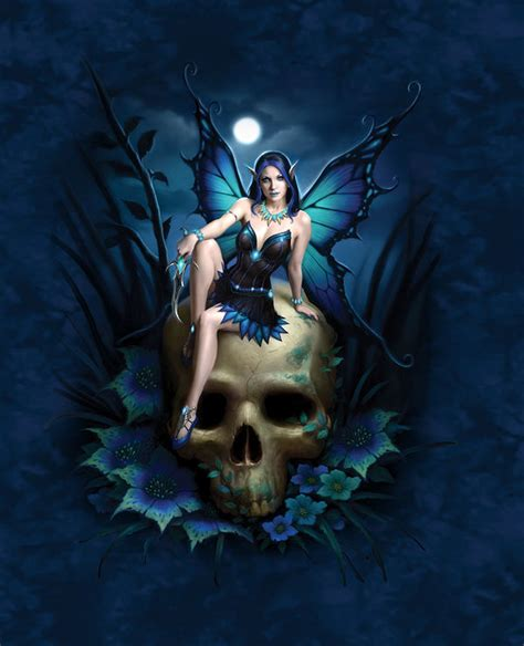 skull fairy  james ryman decalgirl