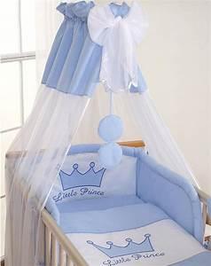 Couette Pour Lit Bébé : housses de couette et d 39 oreiller pour lit b b 140x70 prince bleu ~ Teatrodelosmanantiales.com Idées de Décoration