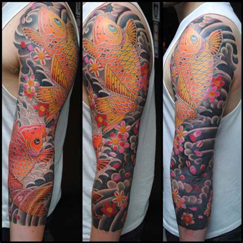 japanese koi sleeve sydney tattoo miles  miles