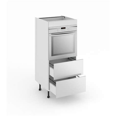 colonne pour cuisine demi colonne de cuisine pour four avec 2 tiroirs origine