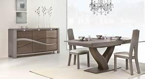 table de salon chene massif farqna With meuble salle À manger avec chaise de salon bois