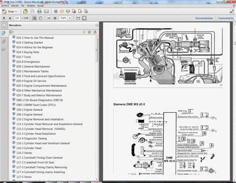 Bmw Serie Manual Taller Service