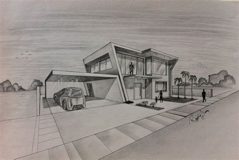House With Hints Of Deco Detailing And A Smooth Neutral Palette by Designs Architectural Design House Plans Detailing House