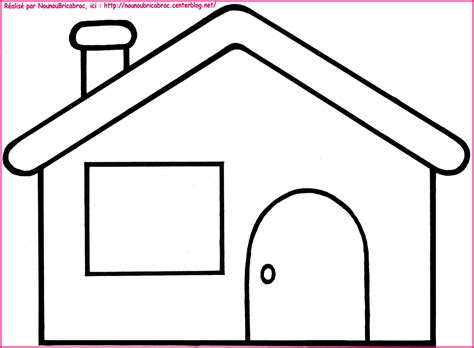 Coloriage Maison à Colorier