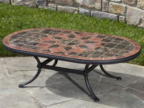 mosaic coffee table outdoor coffee tables guide