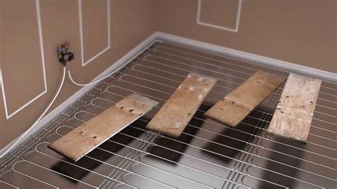 how to install floating floorboards prowarm warm water kit installation floating floor panel method youtube