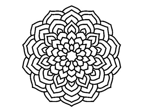 Simple Mandala Coloring Pages - Eskayalitim