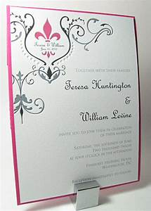fleur de lis wedding invitations in colors digby ros on With plum pocketfold wedding invitations