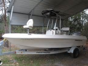 Triumph Boats Youtube by Unavailable Used 2012 Triumph 190 Bay In St Augustine