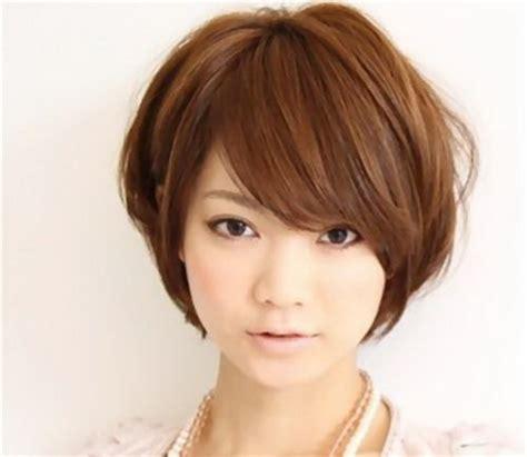 korean short hair style