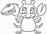 Coloring Lobster Recipe Dibujos Cocktail Colorare Disegni Manualidades Colorear Aragosta Langostas Pinch Langosta Popular Mango Crab Justapinch Realistic sketch template