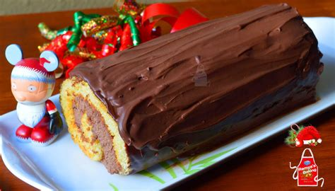 remya s baking yule log cake buche de noel my 50th post