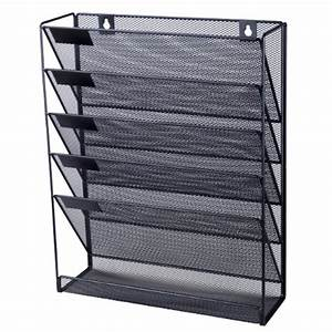 office depot mesh wall literature holder magazine hanging With hanging document holder