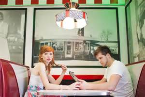 Diner Engagement Shoot