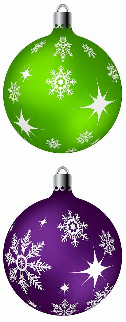 Purple Clip Clipart Balls Ornaments Ornament Ball