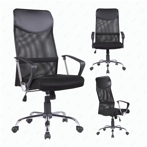 modern office chair high back ergonomic mesh executive