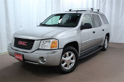 preowned  gmc envoy xuv suv  sale red noland