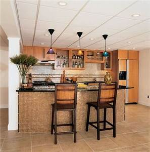 Small kitchen breakfast bar dgmagnetscom for Brilliant house bars designs