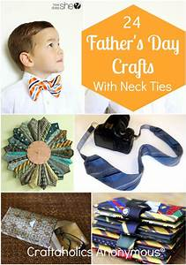 Craftaholics Anonymous® | Necktie Crafts for Father's Day