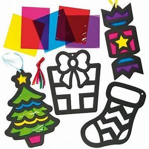 Loisirs Créatifs Enfants : decoration de noel en papier vitrail ~ Melissatoandfro.com Idées de Décoration